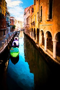 Venetian Canal Impression