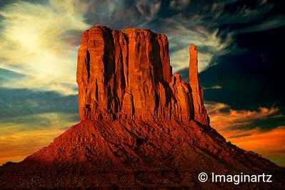 West Mitten Butte - Monument Valley, AZ