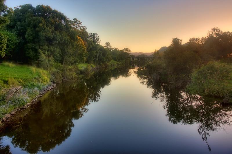 Yabba Creek Sunset