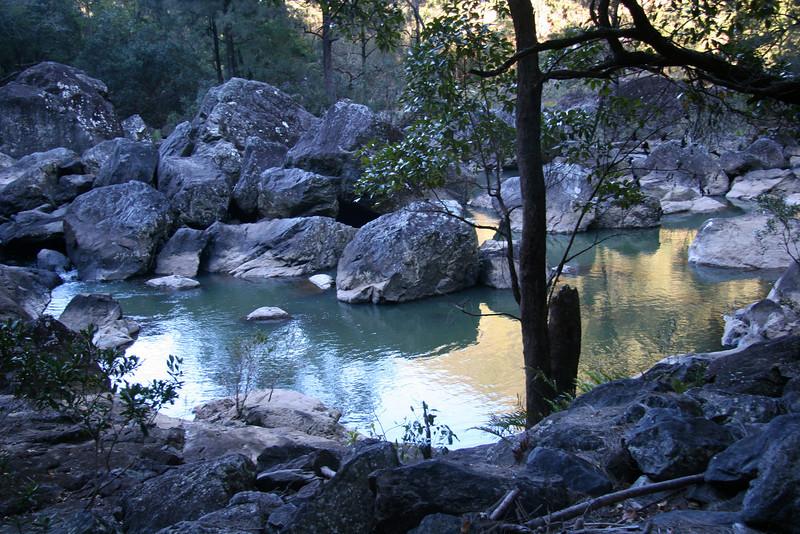 Corner Pool, Baiyambora Gorge, Imbil