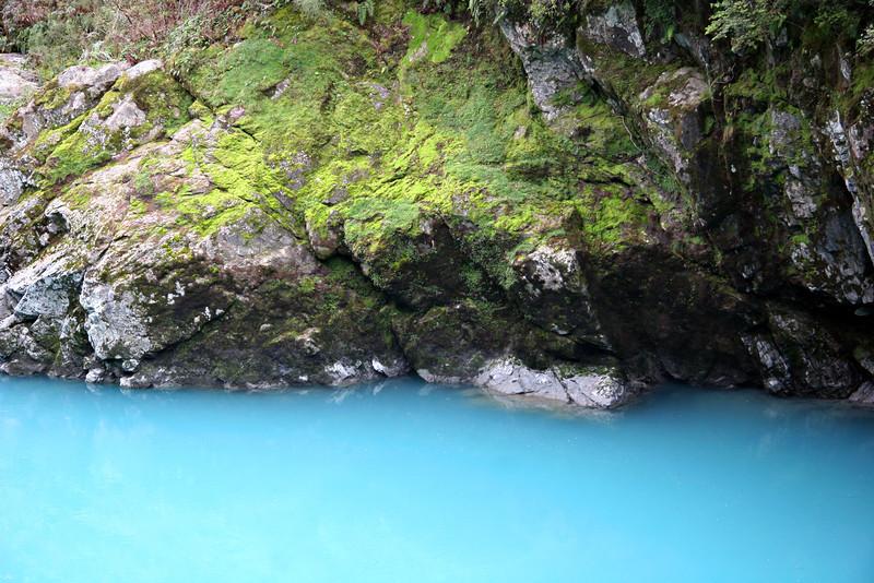 Pastels in Paradise: Hokitika Gorge, NZ