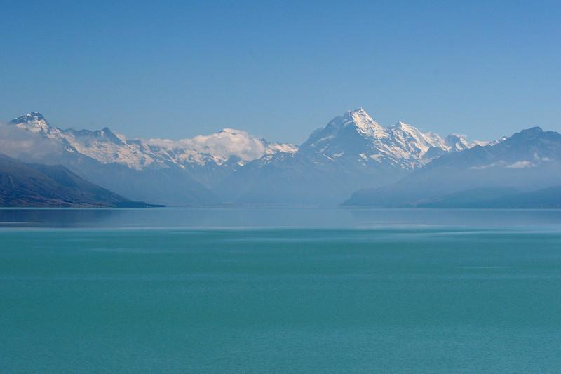 Lake Pukaki filled with Liquid Emerald