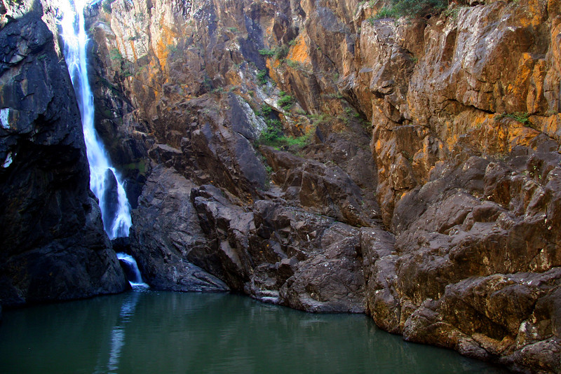Silver and Gold: Top Plunge and Top Pool, Yabba Falls
