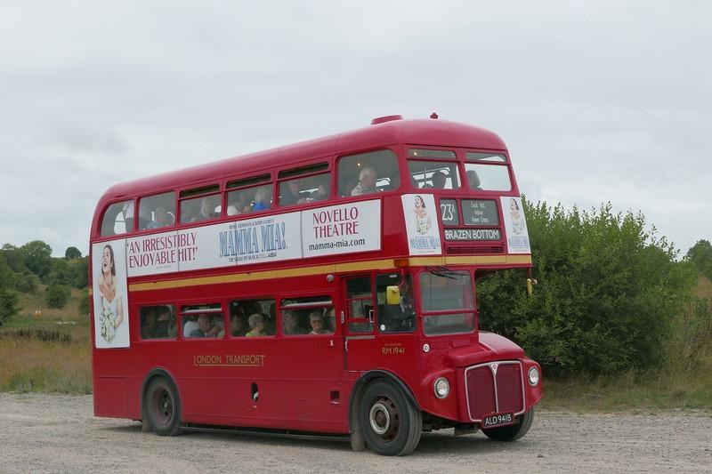 Imber bus runningday 2018