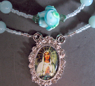 immaculate conception OL lourdes rosary