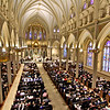 A packed Immaculate Conception Parish for the Rite of Ordination for Order of Deacon ceremony. SUN/ David H. Brow