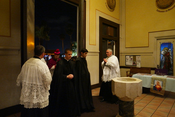 Bishop Schneider Visit to the Oratory (2018)