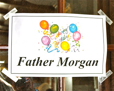Father Donald Morgan's 68th Birthday Party April 19, 2015