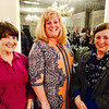From left, Cathy MacLaughlan, Laurie King and Donna MacLaughlan, all of Lowell