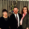 From left, Betsy Shanley, and Steve and Melissa Botto, all of Lowell