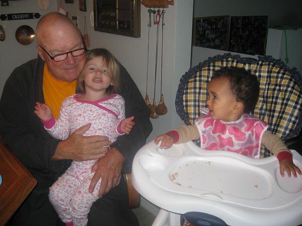 Esther & Sophie visit Bibi & Babu