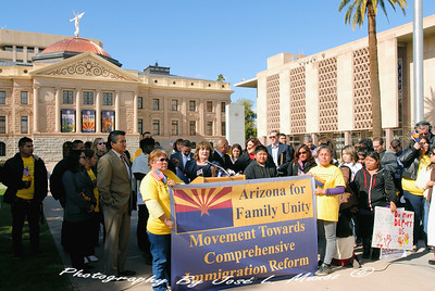 2013-01-28-222 Not1More--Keep Families Together Press Conference at the Arizona State Capitol on Immigration Reform