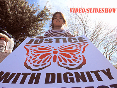 2014-02-13 Press Conference for Puente Hunger Strrke