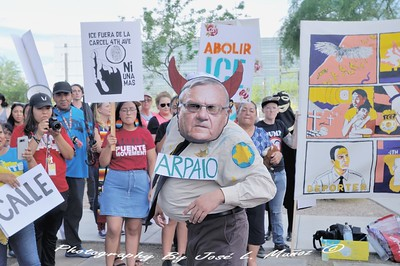 2018-08-22-10  Action to Expose Sheriff Paul Penzone & Trump Administration's