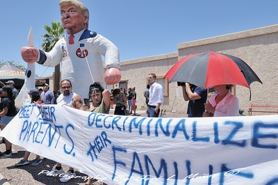 2018-06-28-82  Melania Trump visit to Phoenix, Arizona