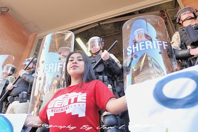 2018-08-22-360  Action to Expose Sheriff Paul Penzone & Trump Administration's