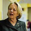 Congresswoman Niki Tsongas speaks ahead of the immigrant information session with Congressman Jim McGovern at First Church Unitarian Universalist on Saturday, February 25, 2017. SENTINEL & ENTERPRISE / Ashley Green