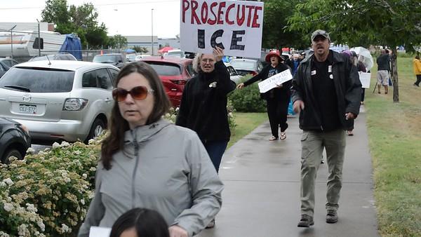 ICE protest Aurora video #6