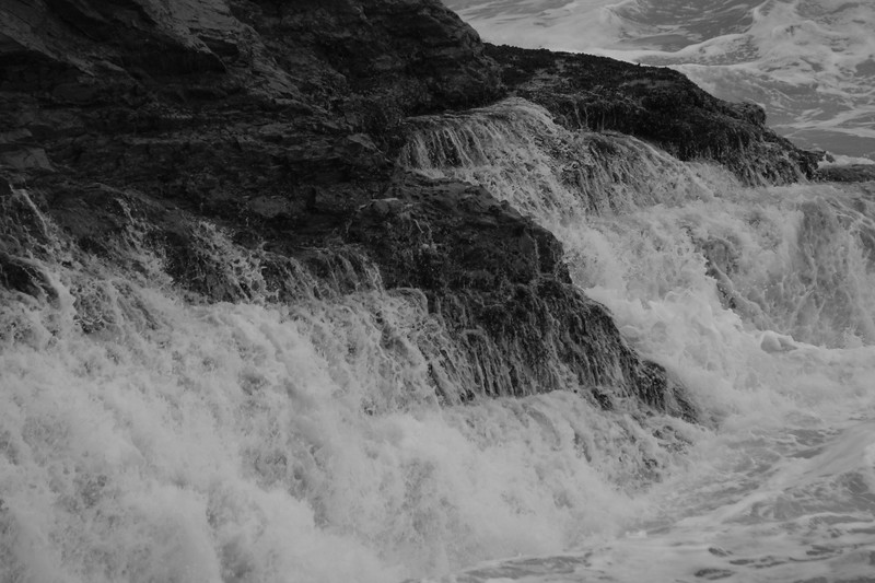 some ocean waterfalls
