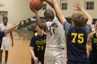 AJCES Basketball v Steward