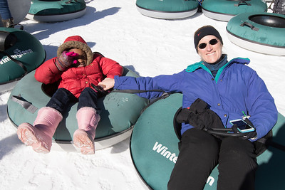Peter Paul Tubing at Wintergreen