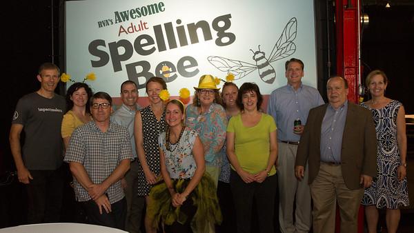 Podium Spelling Bee 2018