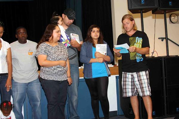 Dedication August 14, 2011: Mendez Family