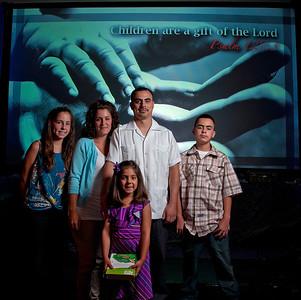 Hernandez Family - July 29, 2012