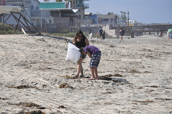 Imperial Beach Cleanup: June 30, 2012