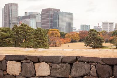 View from Tenshu-dai