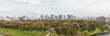 Imperial Palace Ground with Marunouchi - Panorama