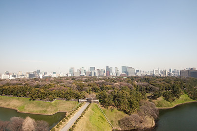 Imperial Palace Ground with Marunouchi