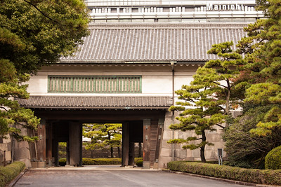 Bigger Gate of Hirakawa-mon