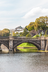 The Nijubashi Bridge
