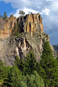 Battleship Rock, Jemez Mountains