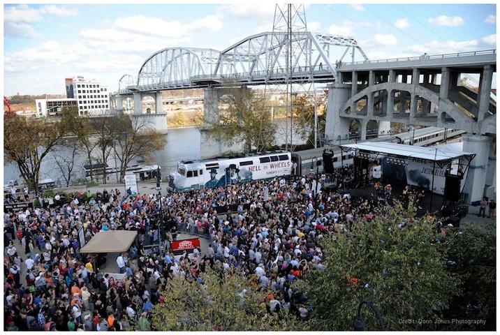 AMC's Hell on Wheels Train Concert