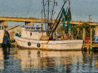 Boat On Lazaretto Creek