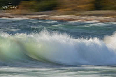 Wave Blur at Old Woman Bay, Lake Superior Provincial Park, Ontario, Canada