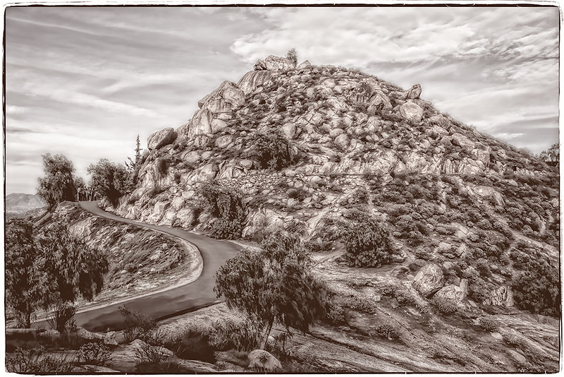 Mt Rubidoux (Road to the Top)