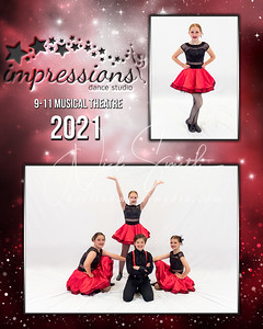 2021 Impressions Dance Studio Picture Day