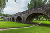 REPUBLIC OF IRELAND-INISTIOGE-10 ARCH BRIDGE-RIVER NORE