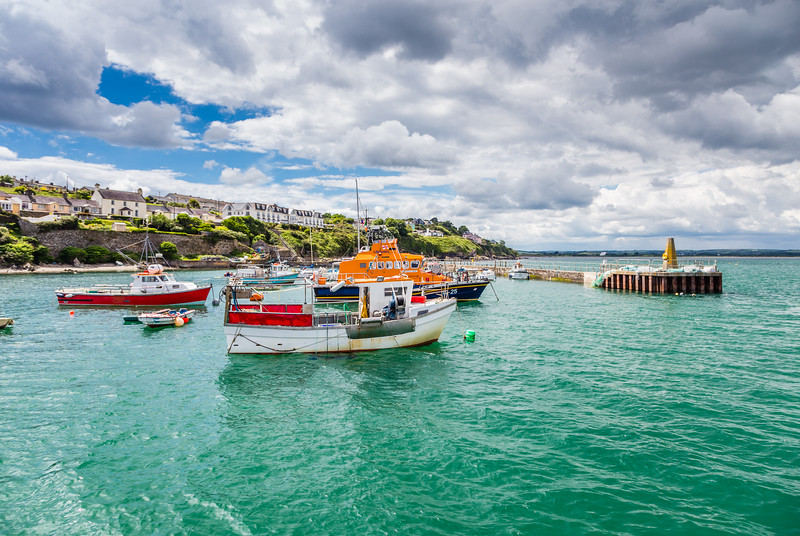 REPUBLIC OF IRELAND-BALLYCOTTON-HARBOR