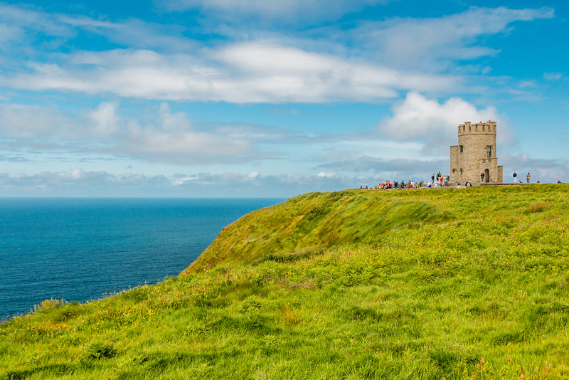 REPUBLIC OF IRELAND-CLIFFS OF MOHERO'Brien's Tower