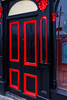REPUBLIC OF IRELAND-WATERFORD-BLACK AND RED DOOR