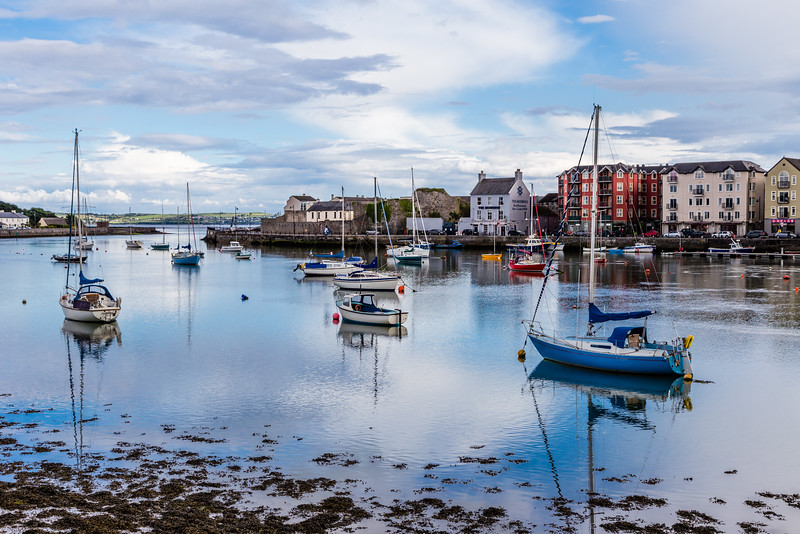 REPUBLIC OF IRELAND-DUNGARVAN-DUNGARVAN HARBOR