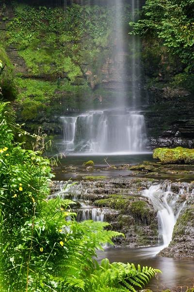 NORTHERN IRELAND-GLENCAR WATERFALLS