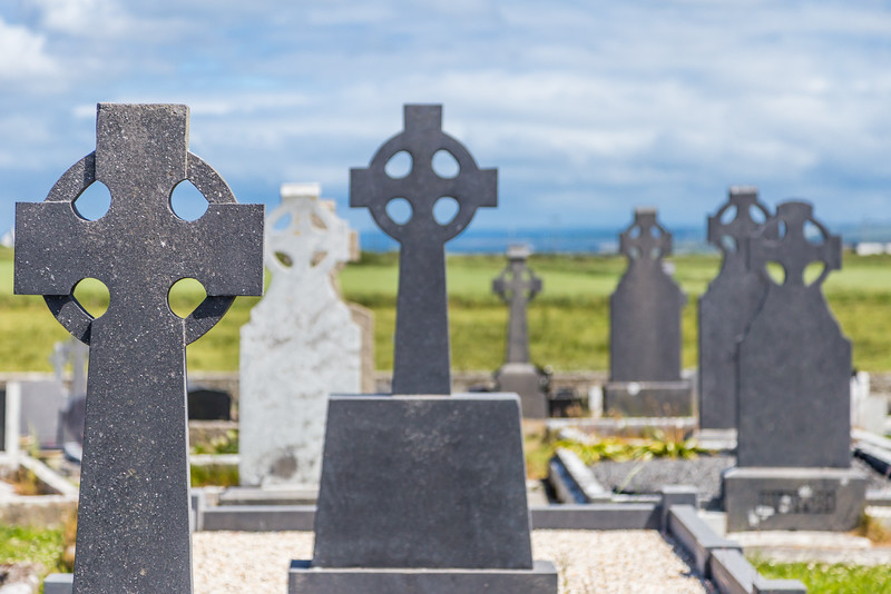 REPUBLIC OF IRELAND-MONNEN CHURCH AND CEMETERY