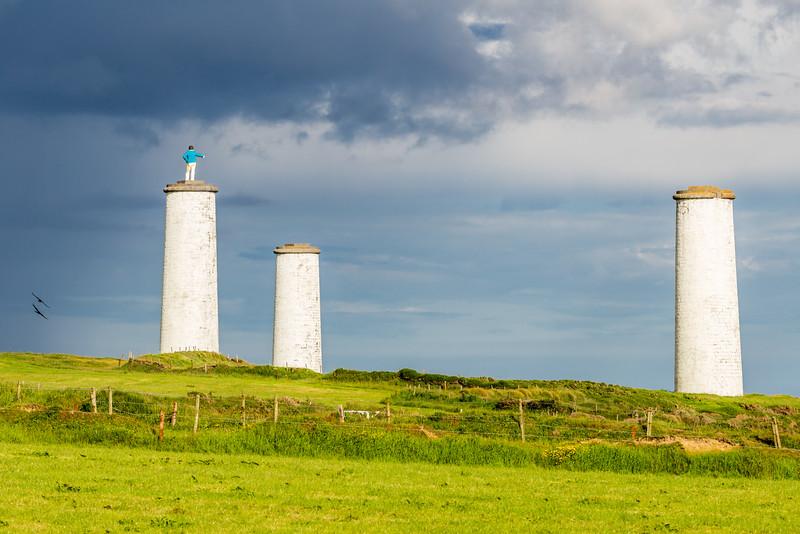 REPUBLIC OF IRELAND-TRAMORE-METAL MAN