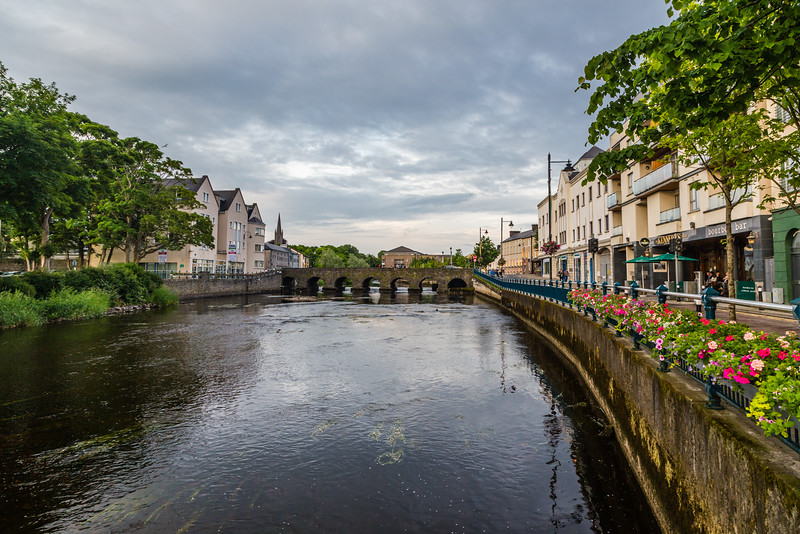REPUBLIC OF IRELAND-SLIGO-Garavogue [RIVER]