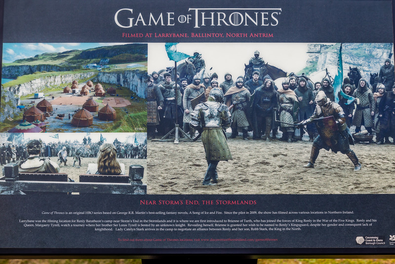 NORTHERN IRELAND-CARRICK-a-REDE ROPE BRIDGE-GAME OF THRONES